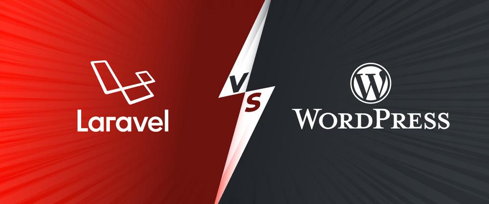 برای راه اندازی یک وب سایت اینترنتی، لاراول بهتر است یا وردپرس ؟